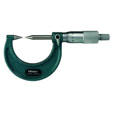 Mikrometr třmenový 50-75mm  s měřicími hroty 30° z tvrdokovu