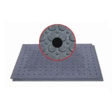 Interierová děrovaná podlahová deska (díry o 25 mm)