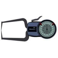 Číselníkový úchylkoměr s měřicími rameny pro vnější měření 0-20mm