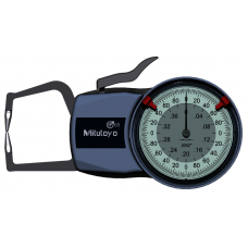 """Číselníkový úchylkoměr s měřicími rameny pro vnější měření 0-0,4"""",, 0,0002"""""""