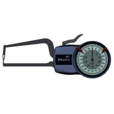 """Číselníkový úchylkoměr s měřicími rameny pro vnější měření 0-0,8"""", 0,0005"""""""