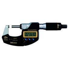 Digitální třmenový mikrometr se stoupáním vřetene 2 mm, 0-1 inch QuantuMike s výstupem dat