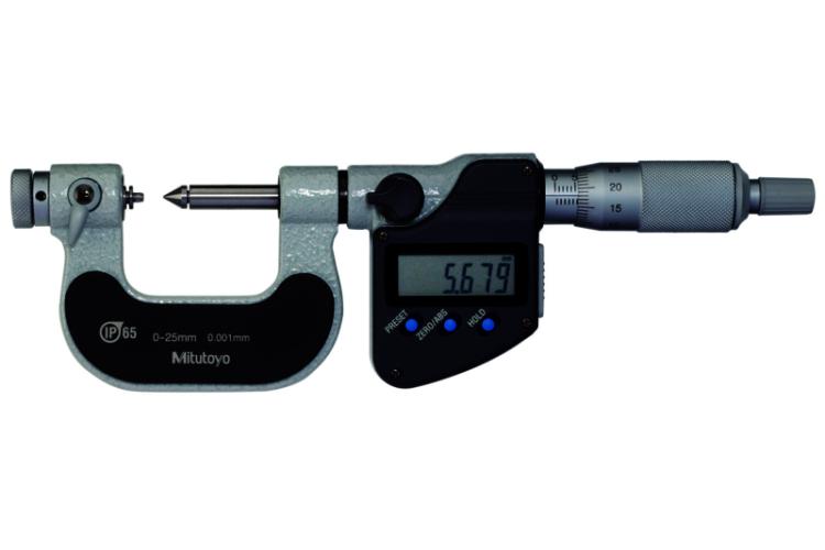 1-2/25-50 mikrometr třmenový na měření závitů