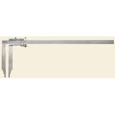 Měřítko posuvné dílenské s dlouhými měřícími čelistmi