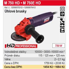 Bruska úhlová M 750E HD 125mm