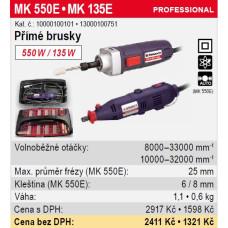 Bruska přímá MK 135E 135W