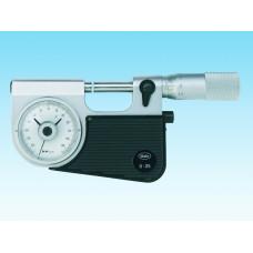 Mikrometr 0-25 mm s číselníkovým úchylkoměrem